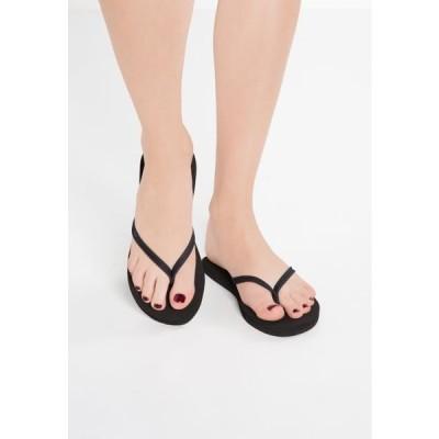 リーフ レディース 靴 シューズ NIGHTS - T-bar sandals - black