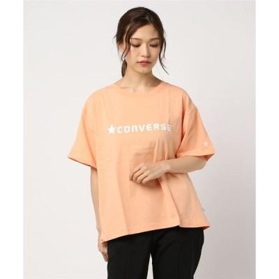 tシャツ Tシャツ 【CONVERSE/コンバース】シリコンプリントTシャツ/ロゴプリント