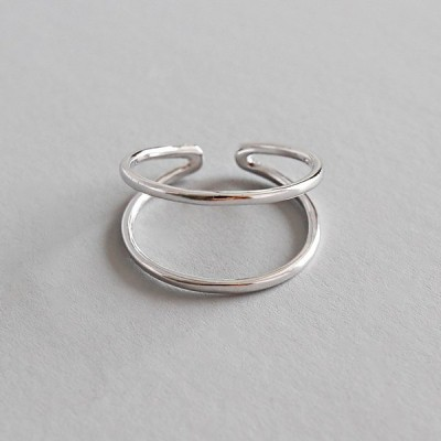 SILVER925製 指輪 リング シルバー ファッション シンプル レディース オシャレ