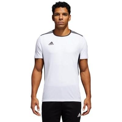 アディダス パーカー・スウェットシャツ アウター メンズ adidas Men's Entrada 18 Soccer Jersey White/Black