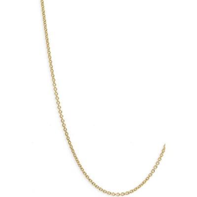 モニカ ヴィナダー MONICA VINADER レディース ジュエリー・アクセサリー 16-Inch Chain Yellow Gold
