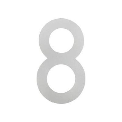新富士バーナー 新富士ロードマーキングナンバーL8 白 170mmx300mm RM-118
