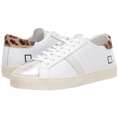 デイト スニーカー シューズ レディース Hill Low White/Pop Leopard