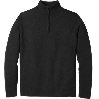 スマートウール Smartwool メンズ ニット・セーター トップス sparwood half zip sweater Charcoal Heather