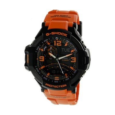 腕時計 カシオ メンズ GA1000-4A Casio G-Shock G-Aviation Master of G GA1000-4A Twin Sensor Watch (Blac