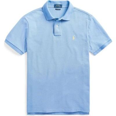 ラルフ ローレン POLO RALPH LAUREN メンズ ポロシャツ スリム トップス slim fit mesh polo shirt Sky blue