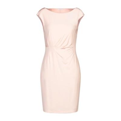 BIANCOGHIACCIO ミニワンピース&ドレス ピンク S アセテート 95% / ポリウレタン 5% ミニワンピース&ドレス