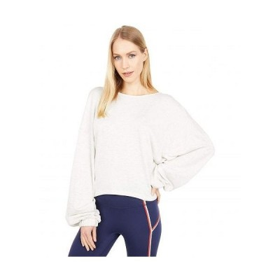 FP Movement レディース 女性用 ファッション パーカー スウェット Good To Go Sweatshirt - White Heather