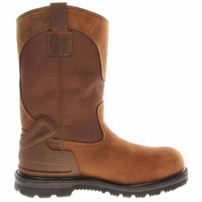 カーハート メンズ ブーツ・レインブーツ シューズ 11 Inch Waterproof Non-Safety Toe EH Wellington Boot Brown