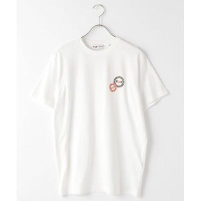 VAN/ヴァン Tシャツ<丸VAN> ホワイト L