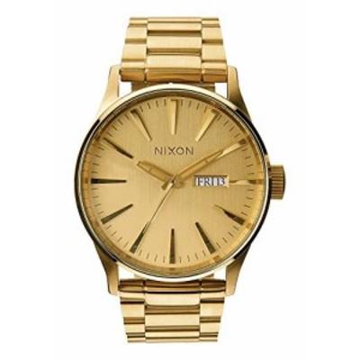 腕時計 ニクソン アメリカ Nixon Sentry SS A356502-00. All Gold Men's Watch (42mm Gold Watch Case.