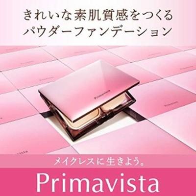 プリマヴィスタ きれいな素肌質感パウダーファンデーション オークル03 + 皮脂くずれ防止 化粧下地ミニ 限定品 14g