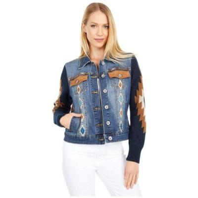 ユニセックス ジャケット コート Avery Aztec Sweater Sleeve Jacket