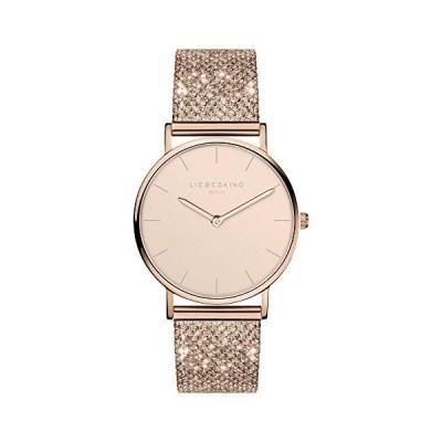 Liebeskind Berlin Women's Analogue Quartz Watch with Stainless Steel Strap LT-0219-MQ 並行輸入品