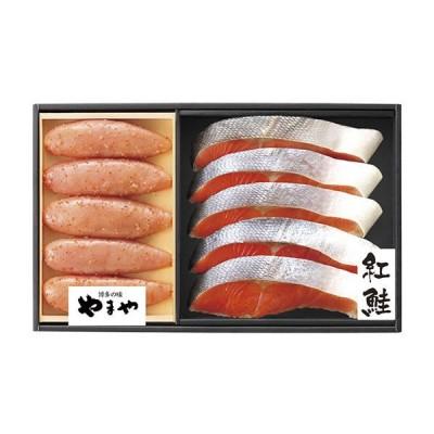 【送料無料】やまや 辛子明太子・紅鮭詰合せ 38278【ギフト館】