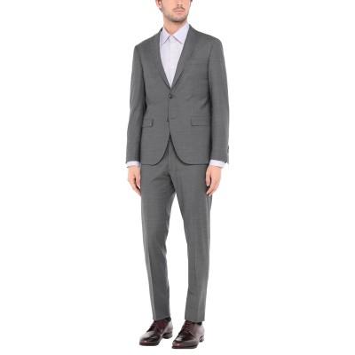 DOMENICO TAGLIENTE スーツ グレー 56 バージンウール 51% / ポリエステル 44% / ポリウレタン 5% スーツ