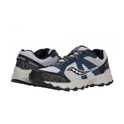 Saucony サッカニー メンズ 男性用 シューズ 靴 スニーカー 運動靴 Grid Raptor TR 2 - Grey/Blue