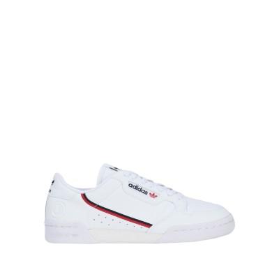 ADIDAS ORIGINALS スニーカー&テニスシューズ(ローカット) ホワイト 4 紡績繊維 スニーカー&テニスシューズ(ローカット)