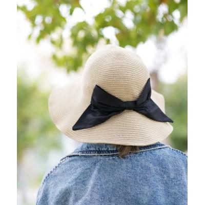 Shop無 / 洗える軽量ブレードキャペリン WOMEN 帽子 > ハット