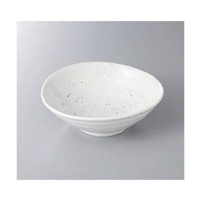 エールネット(Ale-net) たわみ粉引6寸鉢