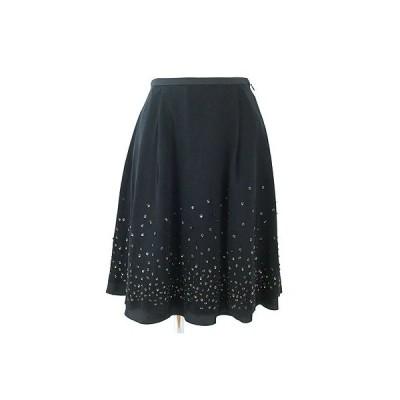イエナ(IENA)黒スパンコール付きチュールスカート36