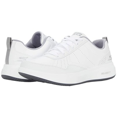スケッチャーズ Go Walk Steady メンズ スニーカー 靴 シューズ White/Grey