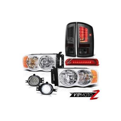 カー用品 パーツ ヴェノムインク 2003-2005 ダッジ ラム 2500 5.9L テールライト ヘッドランプ フォグ レッド 3RD ブレーキ ランプ SMD