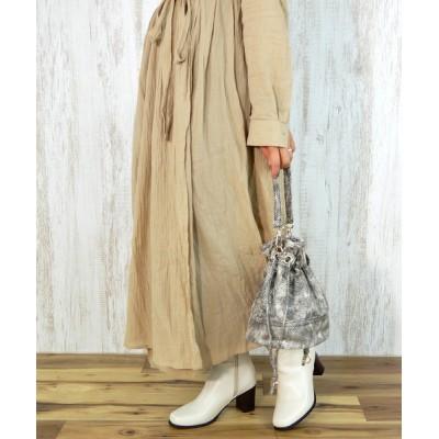minia / 巾着ショルダーバッグ < ハンドバッグ・ミニショルダー > [minia] WOMEN バッグ > ショルダーバッグ