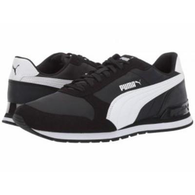 PUMA プーマ メンズ 男性用 シューズ 靴 スニーカー 運動靴 ST Runner V2 NL Puma Black/Puma White【送料無料】