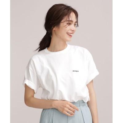 nano・universe / FRUIT OF THE LOOM/別注ANNAMAGAZINE フォトTシャツ 半袖 WOMEN トップス > Tシャツ/カットソー