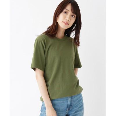 OPAQUE.CLIP(オペークドットクリップ) ゆったりシルエットロングTシャツ