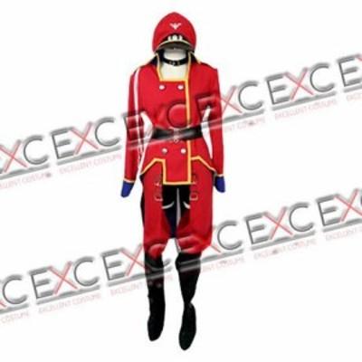 マクロスF劇場版 シェリル 軍服(赤色) 風 コスプレ衣装