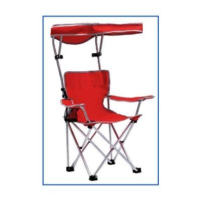 【新品】Quik Shade Folding Canopy Shade Kids with Carry Bag Camp Chair, Red (167611DS)【並行輸入品】