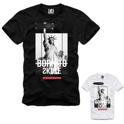 E1SYNDICATE(イーワンシンジケート)プリント フォト tシャツ メンズ プリントtシャツ20代 30代 ファッション コーディネート オシャレ