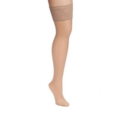 ダナキャラン レディース レギンス ボトムス Signature Lace Top Thigh High Stockings