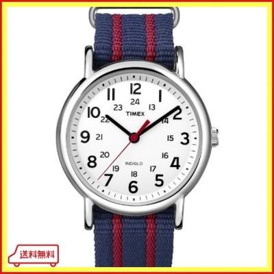 [タイメックス]TIMEX ウィークエンダー セントラルパーク ホワイトネイビー/レッド T2N747 【正規輸入品】