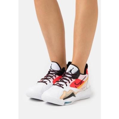 ジョーダン レディース 靴 シューズ ZOOM '92 - High-top trainers - white/black/siren red/university gold