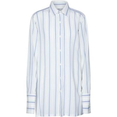 メゾン マルジェラ Maison Margiela レディース ブラウス・シャツ トップス striped shirt Off White / Sky Stripes