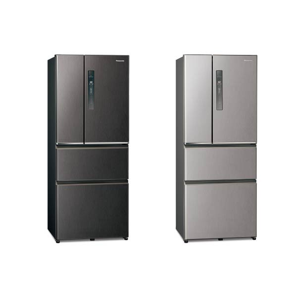 【PANASONIC 國際】610公升 四門變頻無邊框鋼板冰箱  自動製冰 一級能效 NR-D611XV