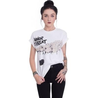 インペリコン Impericon レディース Tシャツ トップス - Out Of Step White - T-Shirt white
