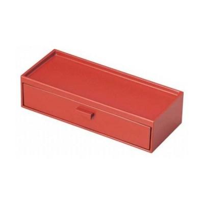 1008-17 ABS箸箱・カスター 赤M10-976 210001810