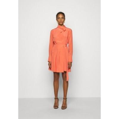 ビクトリアベックカム レディース ワンピース トップス PLEATED DRESS - Cocktail dress / Party dress - lychee pink lychee pink