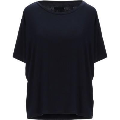 ARCHIVIO B T シャツ ダークブルー M レーヨン 94% / ポリウレタン 6% T シャツ