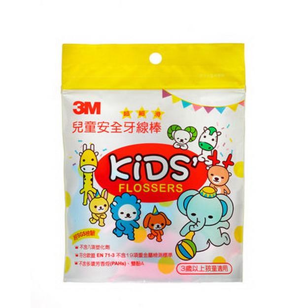 【3M】兒童牙線棒袋裝38支入