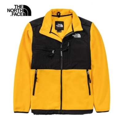 The North Face 男 1995Denali抓絨外套 黃黑-NF0A4UD256P