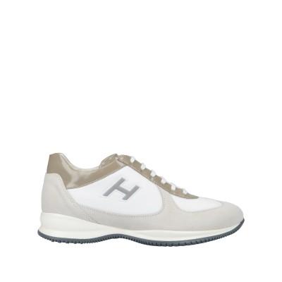 ホーガン HOGAN スニーカー&テニスシューズ(ローカット) ホワイト 8.5 紡績繊維 / 革 スニーカー&テニスシューズ(ローカット)