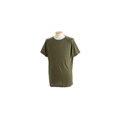 ds-2287373 J. S.D.F.(自衛隊)採用吸汗速乾半袖 Tシャツ 【同色2枚SET】 XS オリーブ (ds2287373)