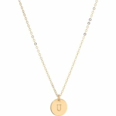エイブル ABLE レディース ネックレス ジュエリー・アクセサリー Mini Tag U Necklace Gold
