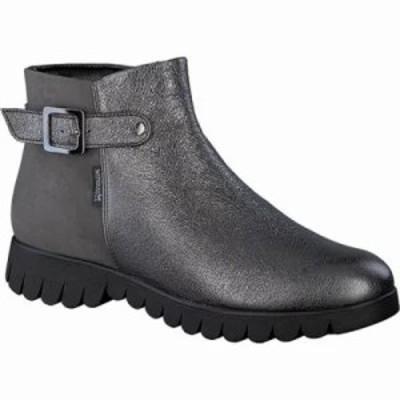 メフィスト ブーツ Lili Bootie Grey Borneo/Bucksoft Leather