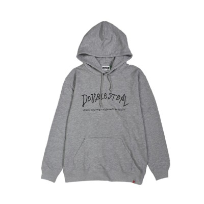DOUBLE STEAL / Arch Logo  裏毛パーカー MEN トップス > パーカー